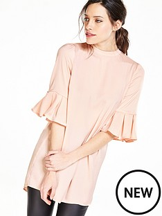v-by-very-pleat-sleeve-tunic