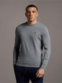 lyle-scott-crew-neck-cotton-merino-jumper