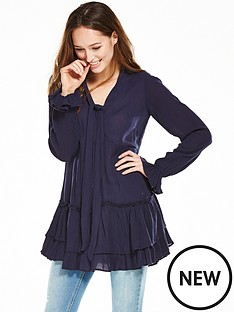 v-by-very-crinkle-tiered-tunic