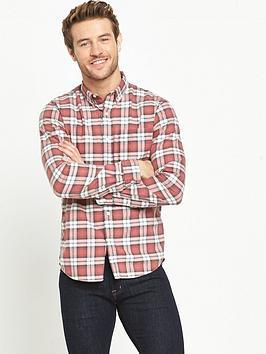 Denim & Supply  Ralph Lauren Checked Oxford Long Sleeved Shirt