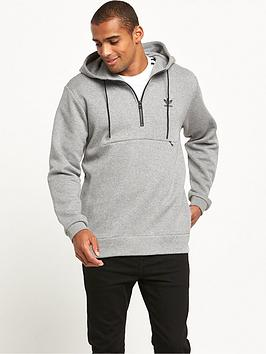 Adidas Originals Shadow Tones Half Zip Overhead Hoodie