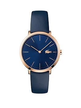 lacoste-lacoste-moon-blue-dial-blue-leather-strap-ladies-watch