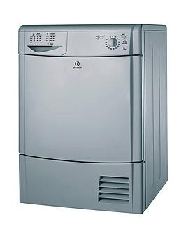 Indesit Indesit Idc8T3Bs 8Kg Load Condenser Tumble Dryer - Silver Picture
