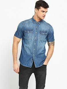 replay-short-sleeve-denim-shirt
