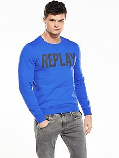 replay-branded-crew-sweat