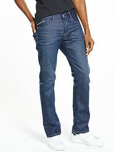 replay-waitom-regular-slim-fit-resin-coated-jeans
