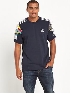 Adidas Originals Adidas Originals L.A Short Sleeve Crew Neck Sweat