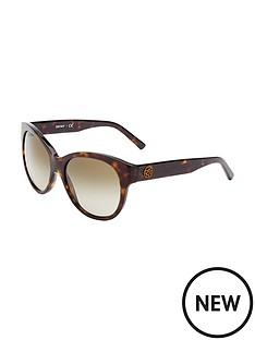 dkny-cateye-logo-sunglasses