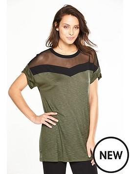 v-by-very-mesh-panel-t-shirt