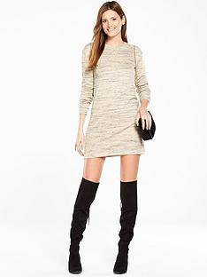 v-by-very-space-dye-metallic-sweater-dress