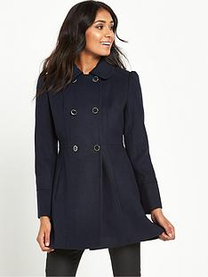 Petite Navy Coat   Down Coat