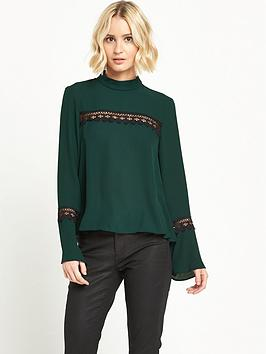river-island-long-sleeve-top-dark-green