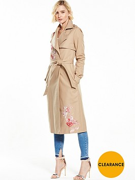 river-island-river-island-beige-embroidered-trench-coat