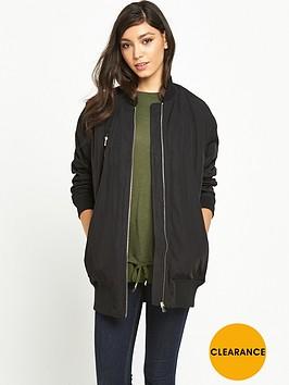 river-island-river-island-black-longline-bomber-jacket
