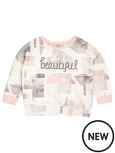 river-island-mini-mini-girls-pink-marble-print-sweatshirt