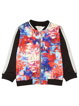 river-island-mini-mini-girls-pink-print-bomber-jacket