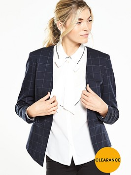 v-by-very-check-ponte-edge-to-edge-blazer