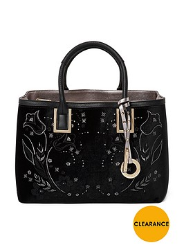river-island-velvet-embossed-structured-tote