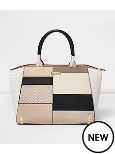 river-island-patch-front-winged-tote