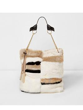 river-island-fur-slouch-bag