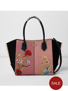 river-island-floral-embroidered-winged-tote