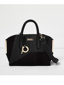 river-island-panelled-metal-edge-tote