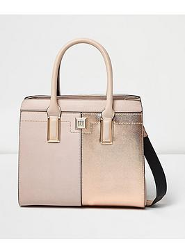 river-island-boxy-tote-pink