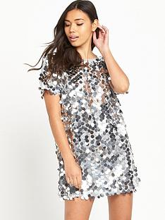 motel-mausi-disk-sequin-mini-dress
