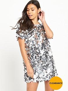 motel-mausi-disk-sequin-mini-dress