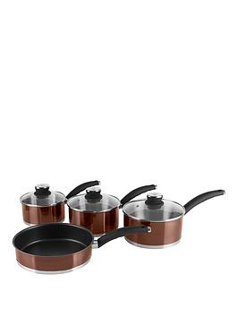 swan-townhouse-4-piece-pan-set-in-copper