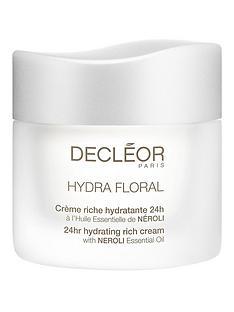 decleor-hydra-floralnbsp24-hour-hydrating-rich-creamnbsp50ml