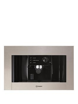 Indesit Cmi5038Ix Built In 60Cm Semi Automatic Coffee Machine  Stainless Steel