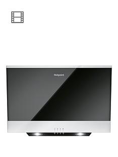 hotpoint-phvp66flmk-60cm-built-in-cooker-hood-blackstainless-steel