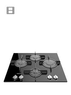 hotpoint-ftghg641dhbk-60cm-built-in-gas-hob-black