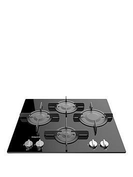 hotpoint-ftghg641dhbk-60cm-built-in-gas-hob-with-fsd-black