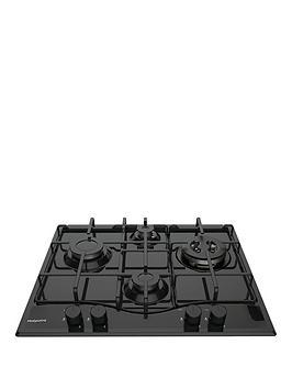 hotpoint-pcn642thbk-60cm-built-in-gas-hob-black