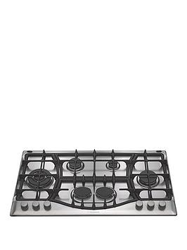 hotpoint-phc961tsixh-90cm-built-in-gas-hob-stainless-steel