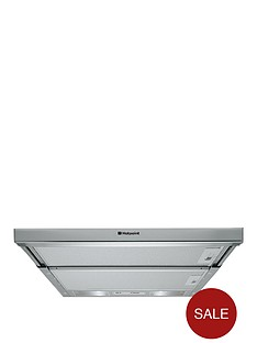 hotpoint-hsfx1-60cm-built-in-telescopic-cooker-hood--nbspstainless-steel