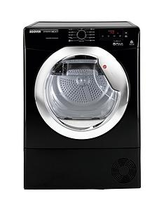 hoover-dncd813bb-dynamic-8kg-aquavision-condenser-sensor-tumble-dryer-black