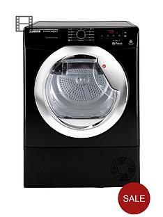 hoover-dncd813bb-dynamic-8kg-aquavision-condenser-sensor-tumble-dryer-black