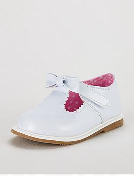 Ladybird Daphne Baby Girls Bow Shoes