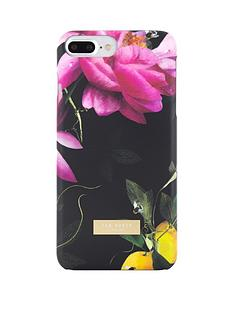 ted-baker-chala-soft-feel-case-for-iphone-67-plus-citrus-bloom-black