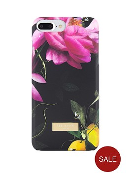 ted-baker-chala-soft-feel-case-for-iphone-67-plus-citrus-bloom-black