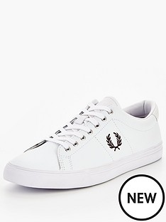 fred-perry-underspin-leather-plimsoll