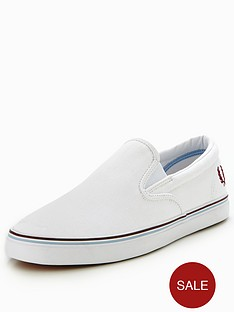 fred-perry-fred-perry-underspin-slip-on-canvas-plimsoll