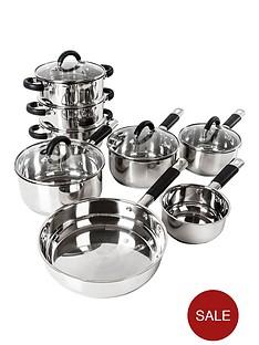 tower-essentials-8-piece-stainless-steel-pan-set