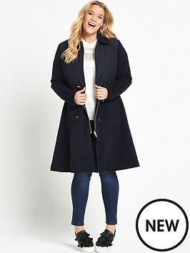 lost-ink-curve-skirted-coat-with-padded-top-navy