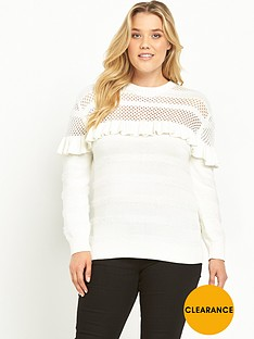 lost-ink-curve-jumper-with-pointelle-and-ruffles-cream