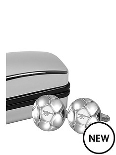 arsenal-football-shaped-cufflinks