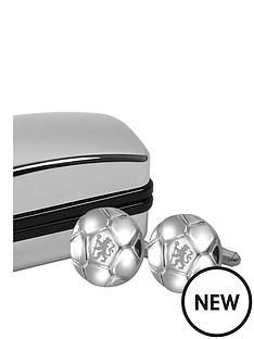 chelsea-football-shaped-cufflinks